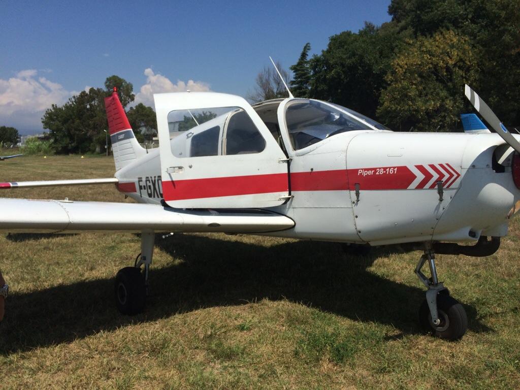 Rêve d'enfant… J'ai piloté un avion!