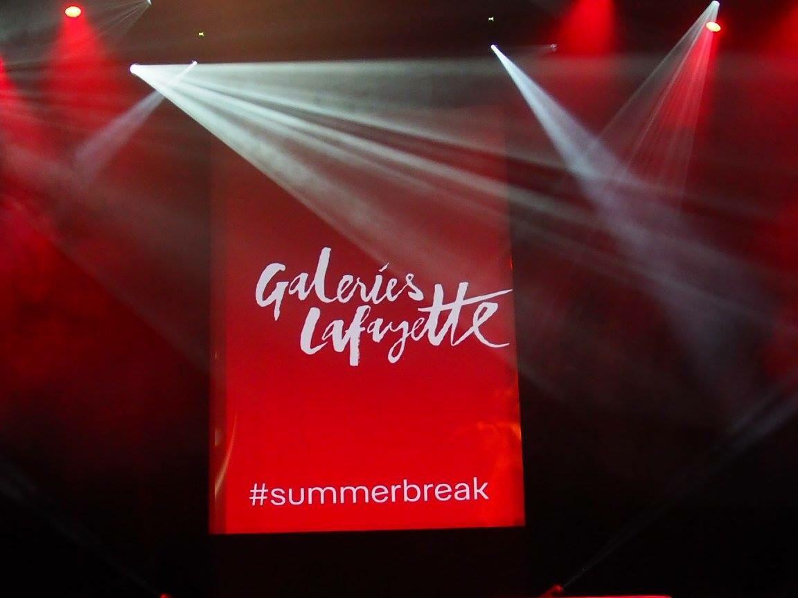 13e édition du Cannes Shopping Festival… #summerbreak par les Galeries Lafayette… En vidéo!