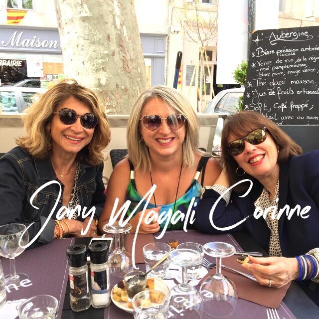 Quand 3 Blogueuses se rencontrent un week-end à Villeneuve Lès Avignon (84)!