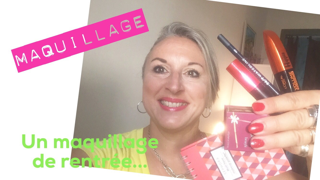 TheMouse sur YouTube: Maquillage de rentree… Avec la palette Must have de chez Sephora