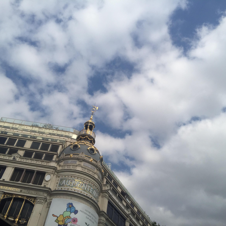 Plaisir des yeux: quelques photos de paris sous un beau ciel bleu!