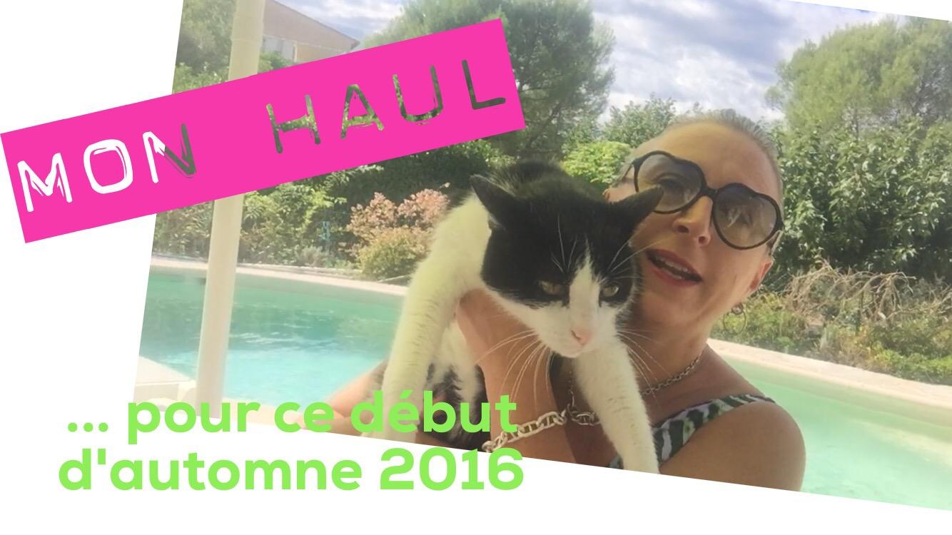 TheMouse sur YouTube: Mon 1er haul mode d'automne 2016