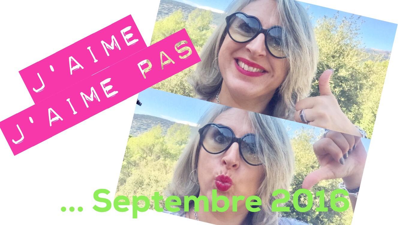 TheMouse sur YouTube: Mes «J'aime-j'aime pas» de septembre 2016
