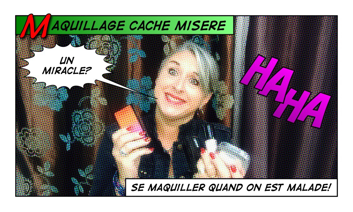 TheMouse sur YouTube: Maquillage cache misère… Ou se maquiller quand on est malade!