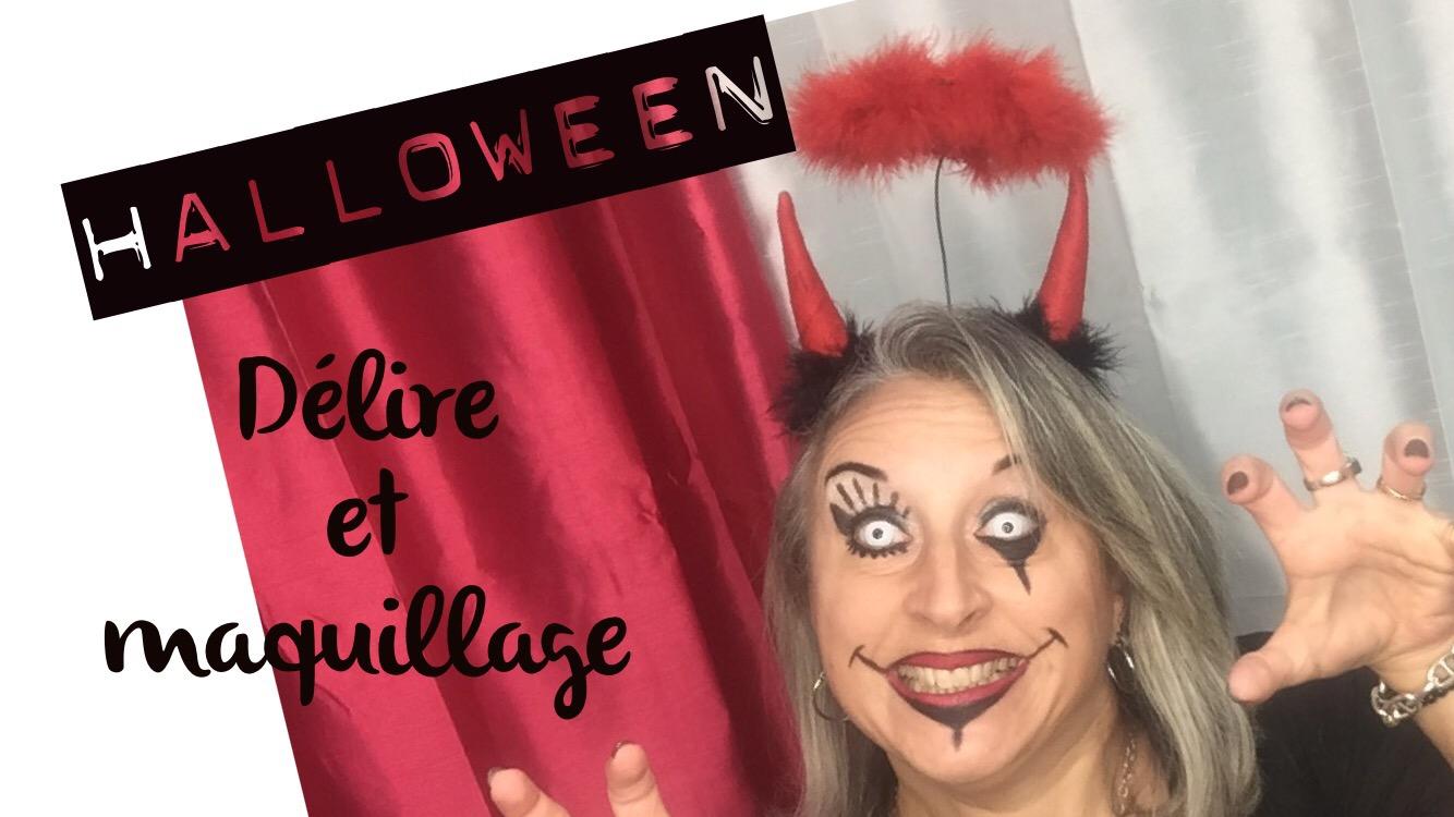 TheMouse sur YouTube: Délire et maquillage pour Halloween