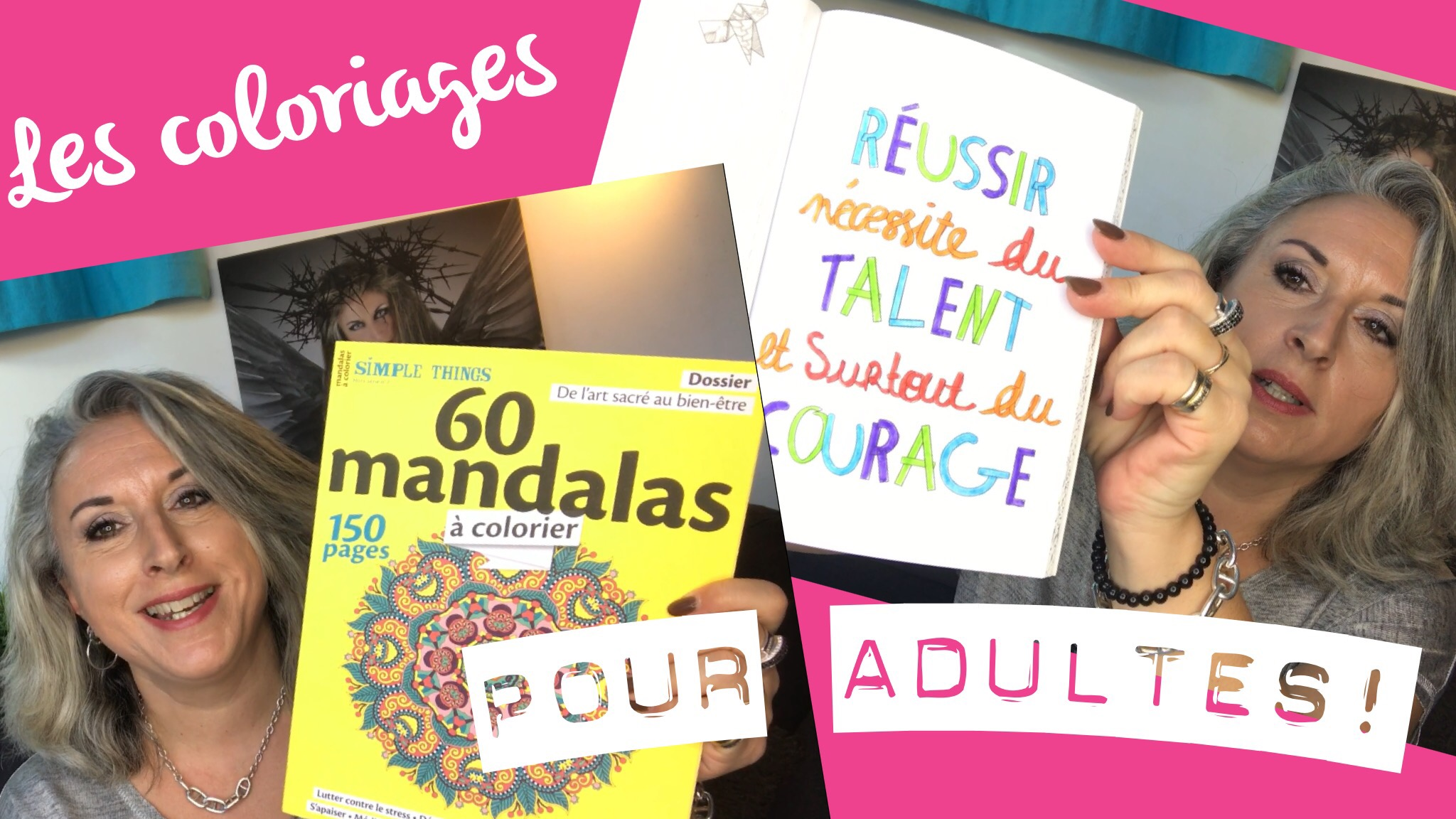 TheMouse sur YouTube: Antistress… Les coloriages pour adultes!