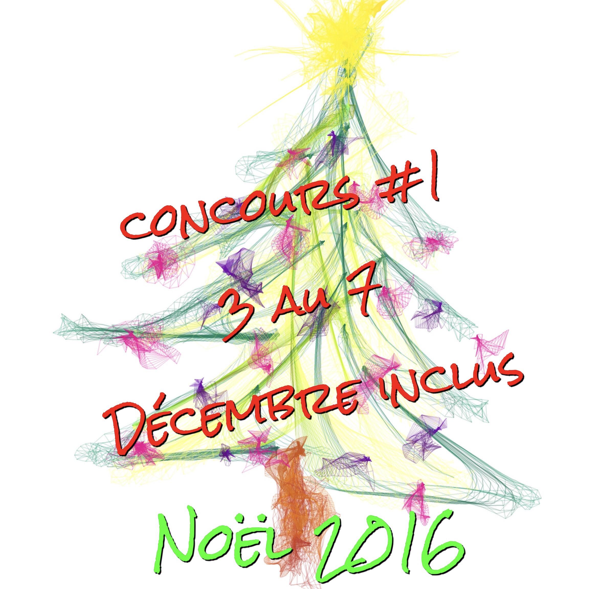 Les concours de noël 2016: «objectif 1000» #1, du 3 au 7 Décembre 2016 [concours inside terminé]