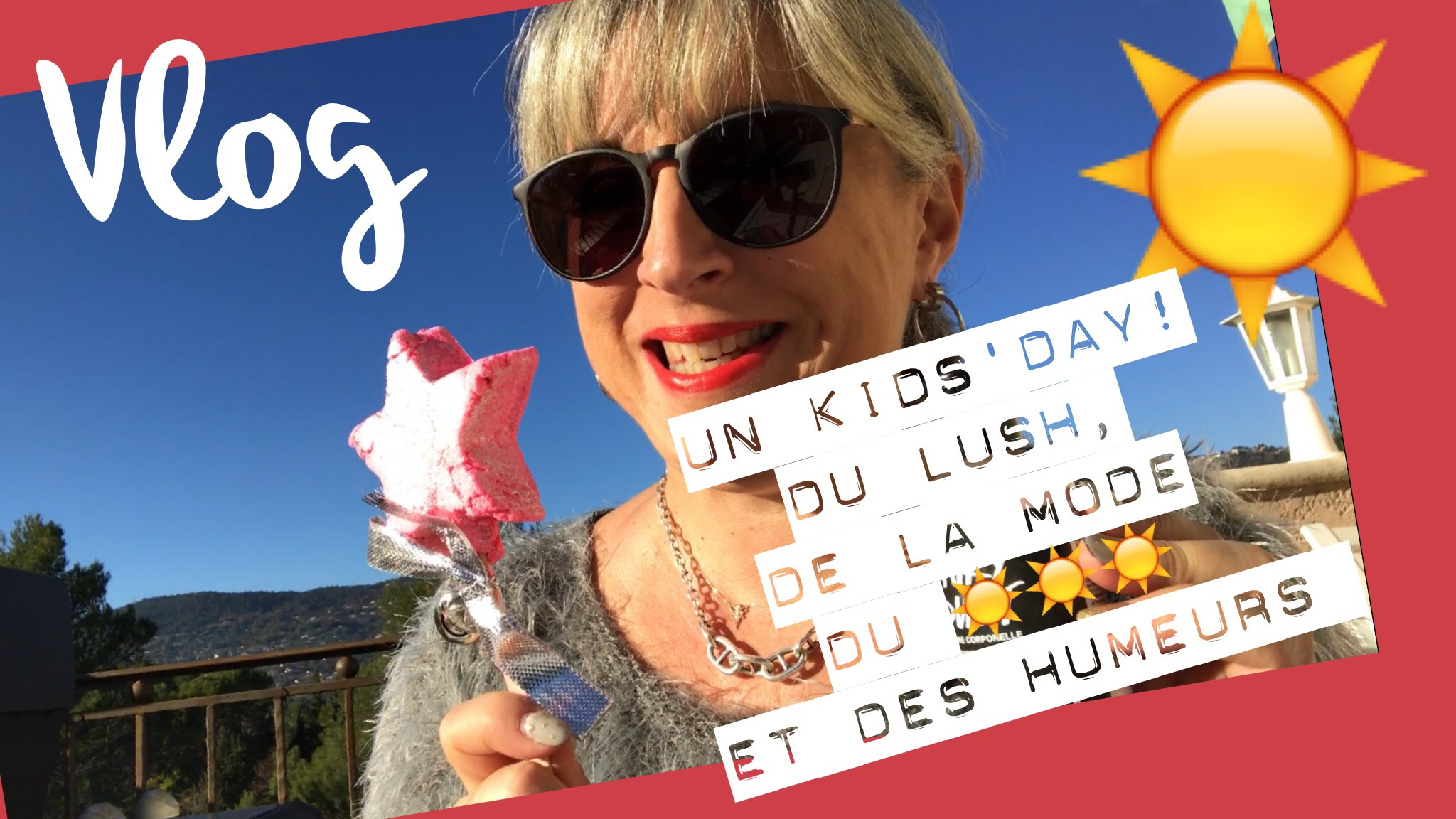 Vlog du 07.12.2016… Temps exceptionnel, radio France Bleu Azur, Lush, shopping…