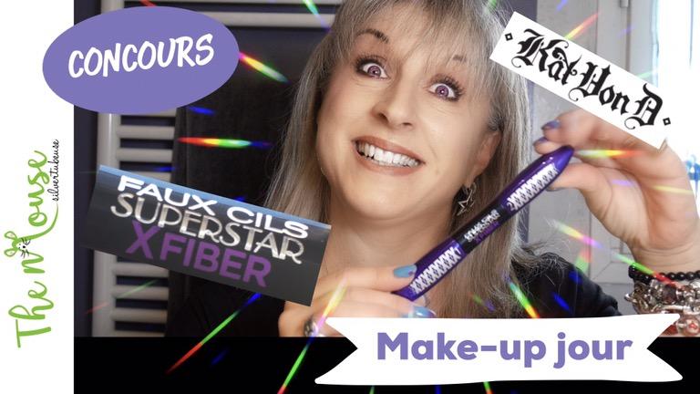 Un make-up de jour avec Kat Von D et L'oreal Xfiber [Concours Subleem]