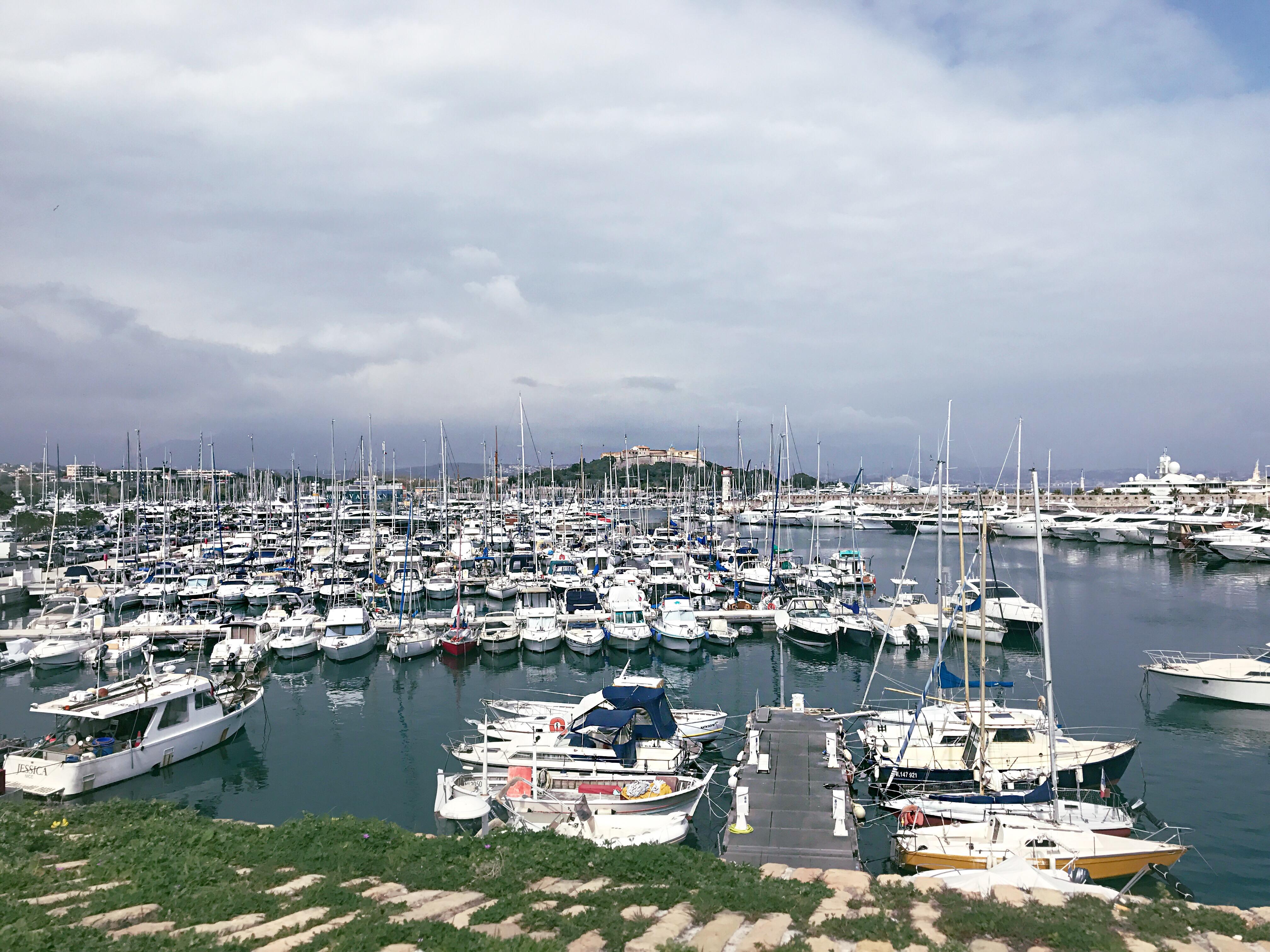Lundi Soleil 27 mars 2017: le port Vauban à Antibes
