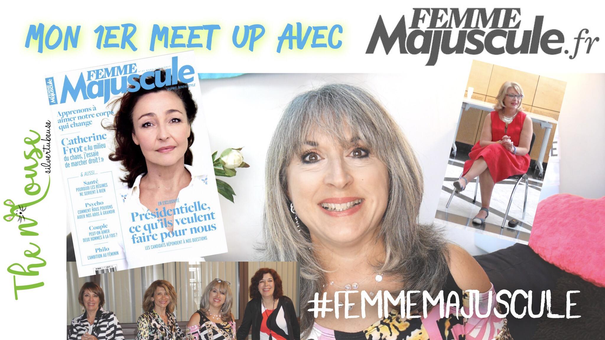 Mon 1er meet up avec Femme Majuscule, Nicole Tonnelle, mes blopines… et #hashtagetmajuscule !