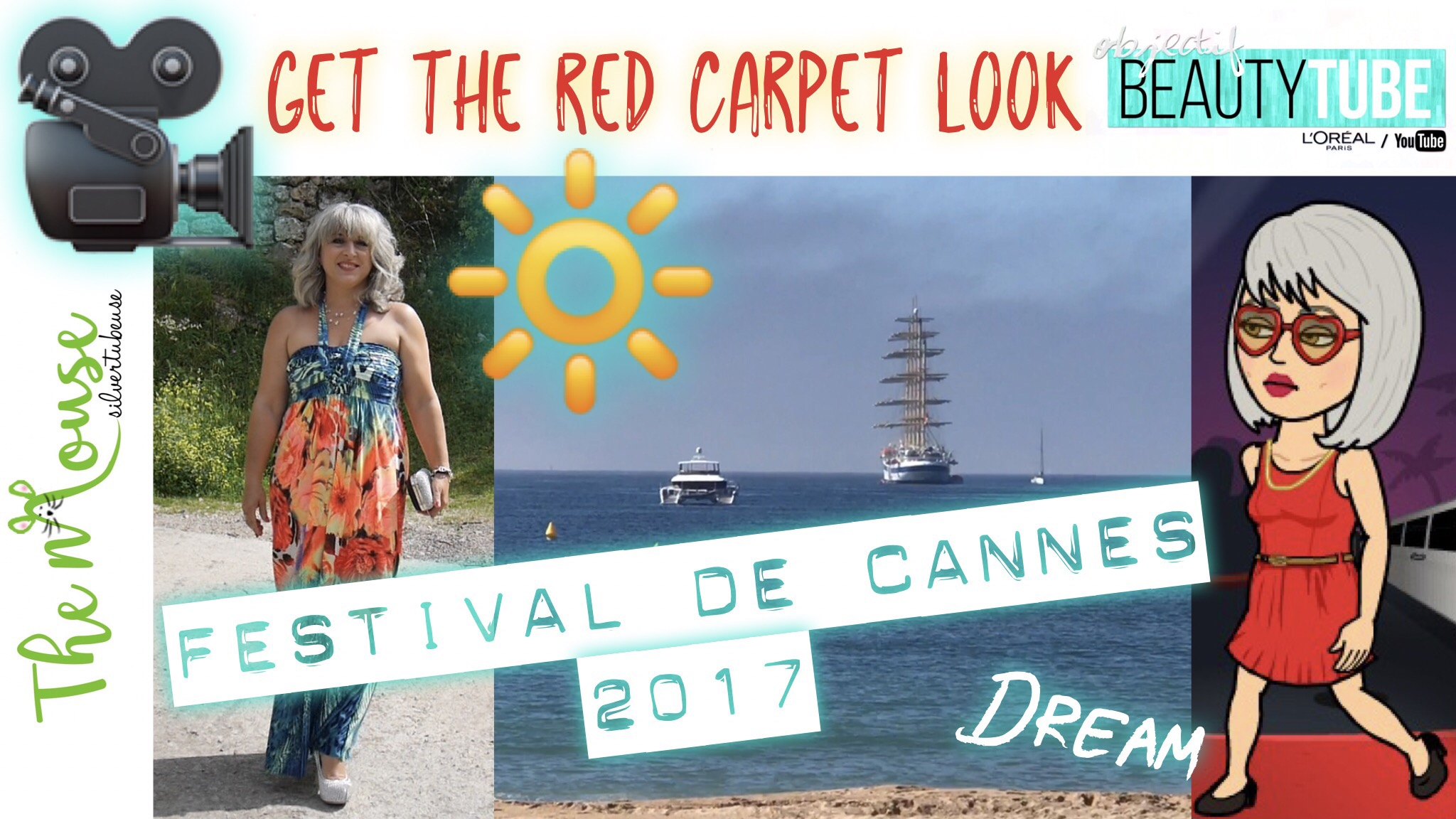 Get The Red Carpet Look… À moi le tapis rouge! Challenge Objectif Beautytube – Beauté 50+