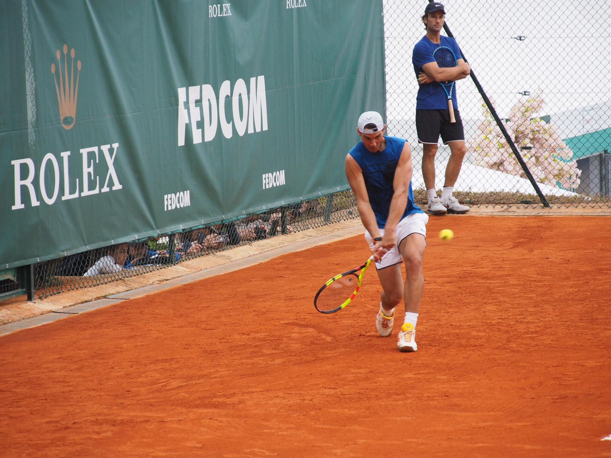 Tennis Monte Carlo Rolex Masters… Lundi Soleil 16/04/2018