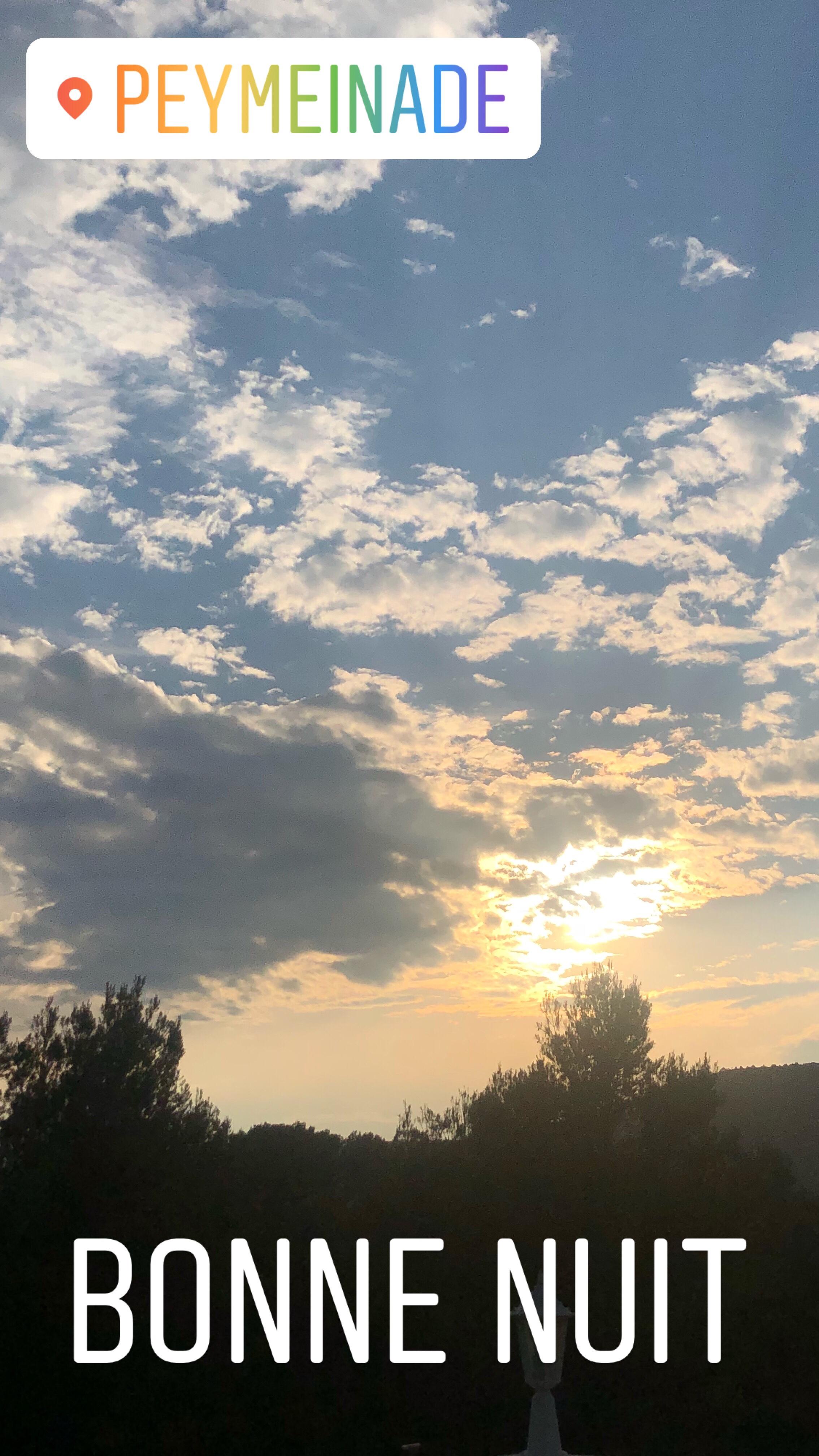 Enfin du bleu dans le ciel… Lundi Soleil 17/06/2018