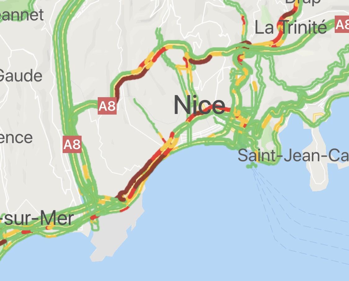 Deux présidents en visite à Nice et «les anglais perdent leur flegme»!