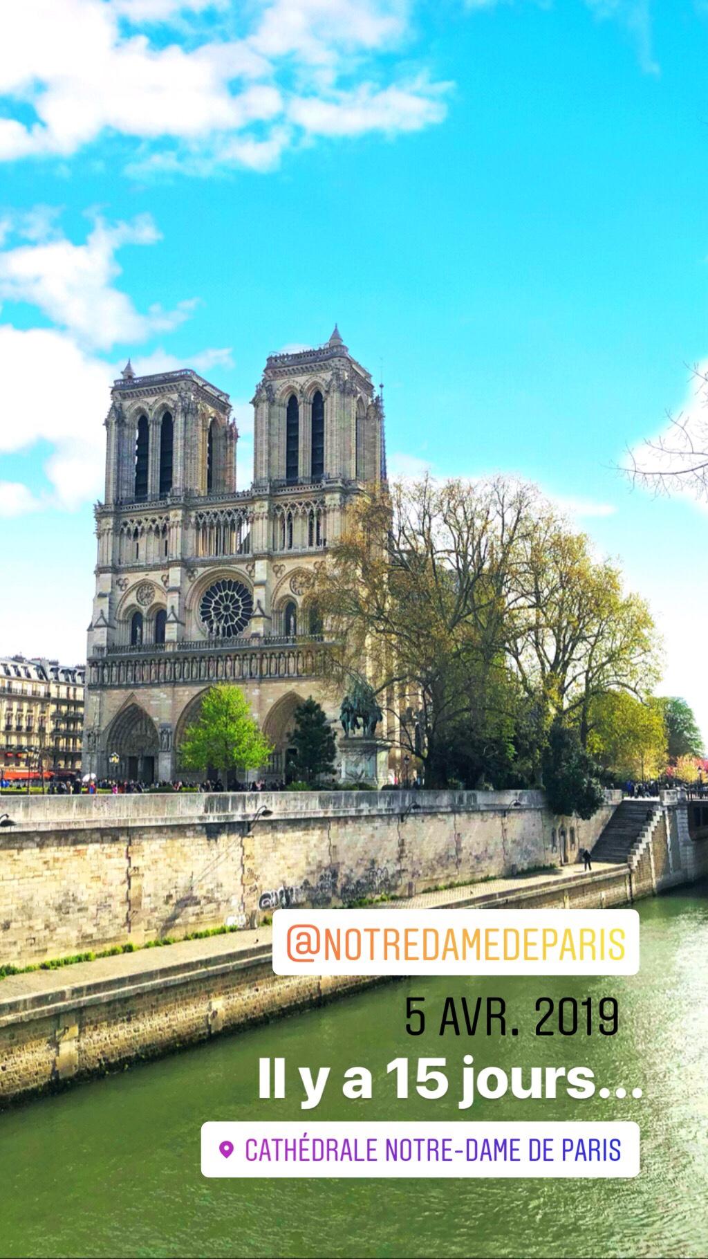 Notre dame de Paris, Marseille et vacances… Les états d'esprit du vendredi 19/04/2019