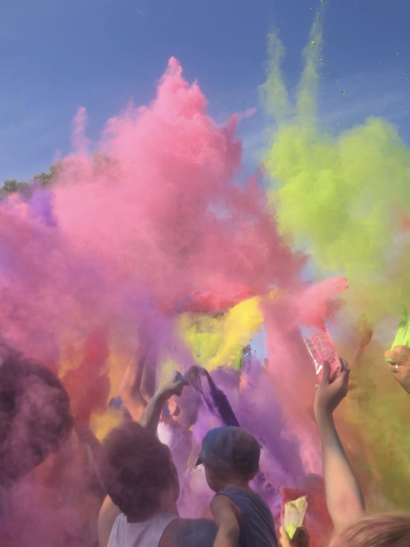 Ma première color party… c'est sérieux?