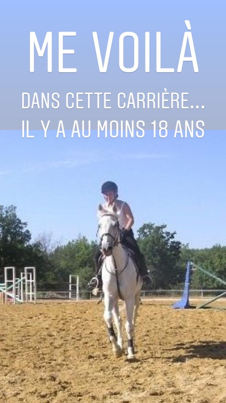 Allergie, fatigue, marché de Saint Cézaire, équitation et semaine de reprise