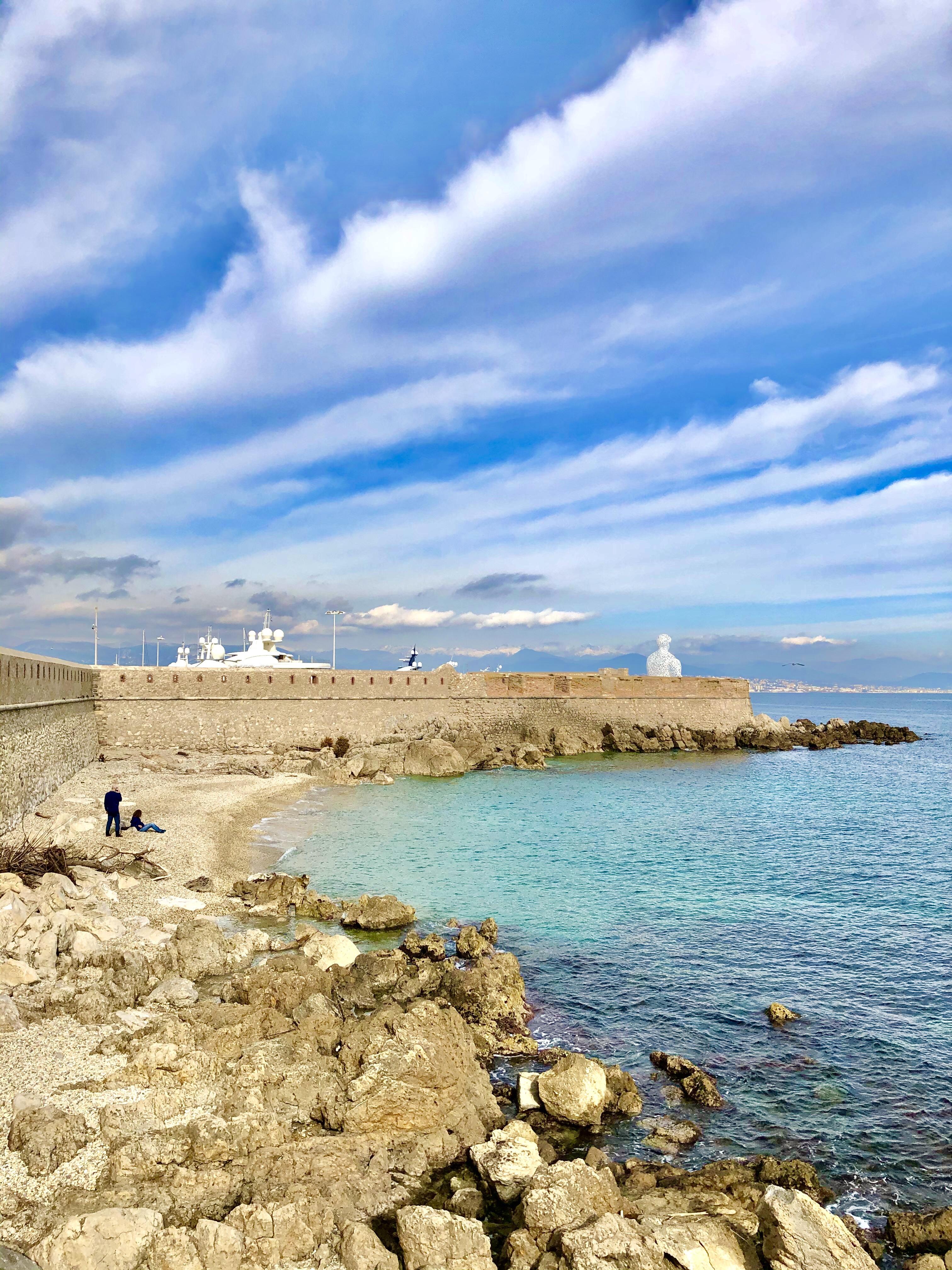 Plaisir des yeux… un jour d'hiver à Antibes!