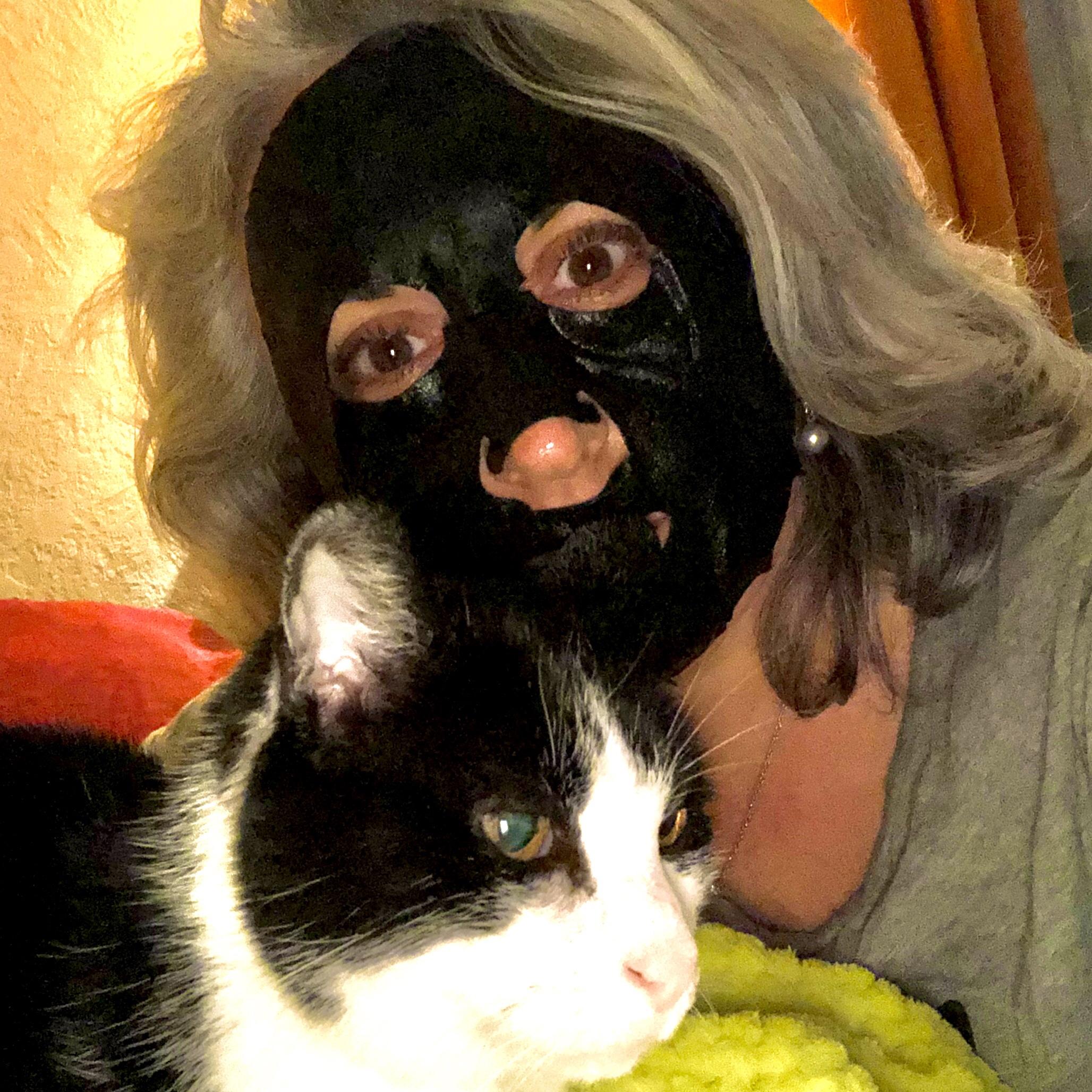 Je teste le masque Garnier au charbon végétal