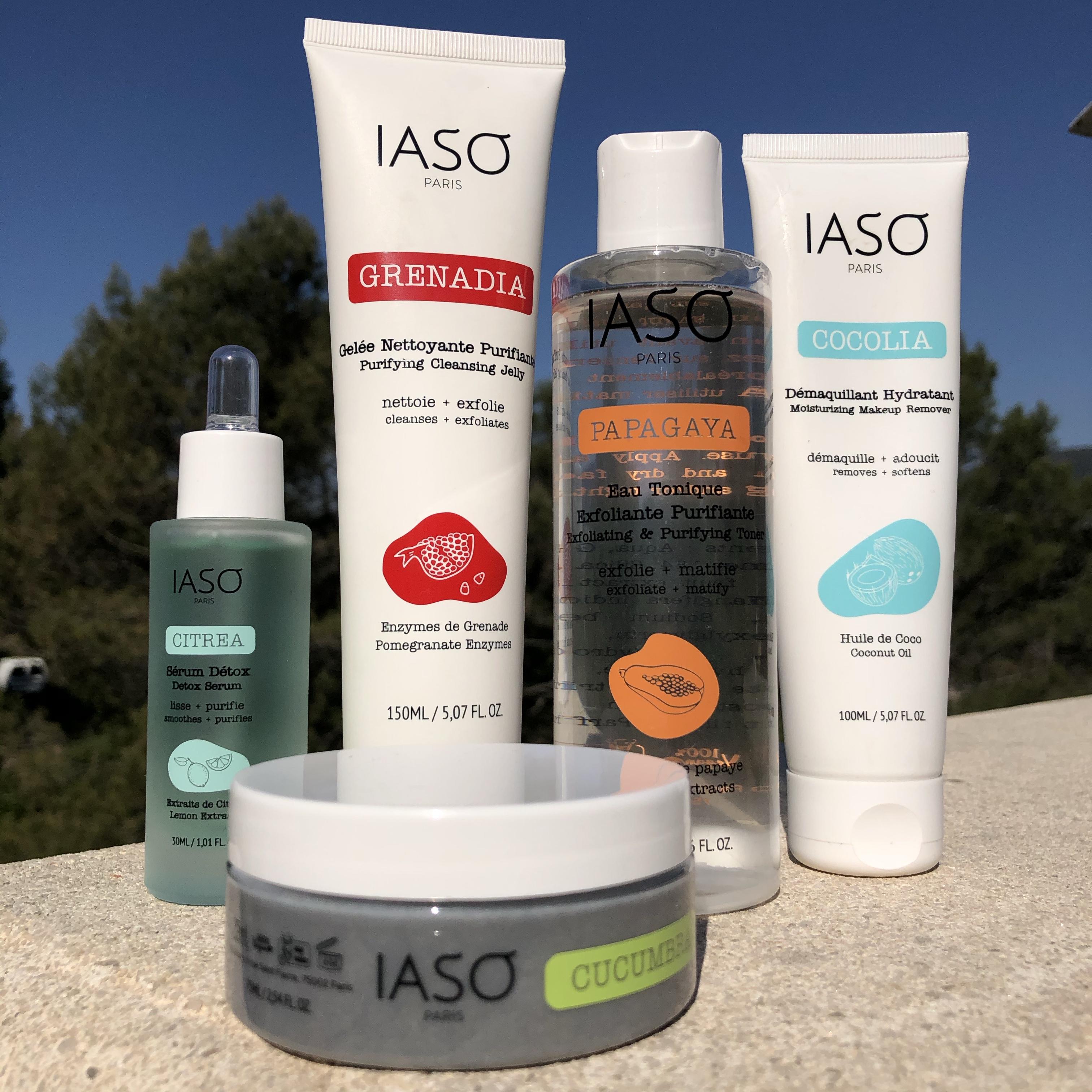 Ma routine soin IASO pour une peau parfaite