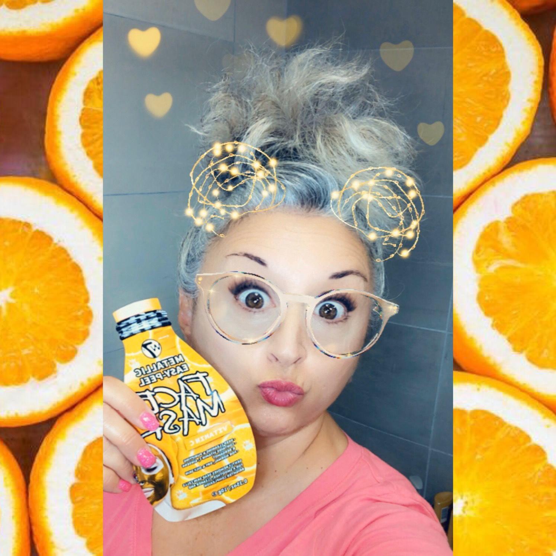 Masque peel-off W7 vitamine C