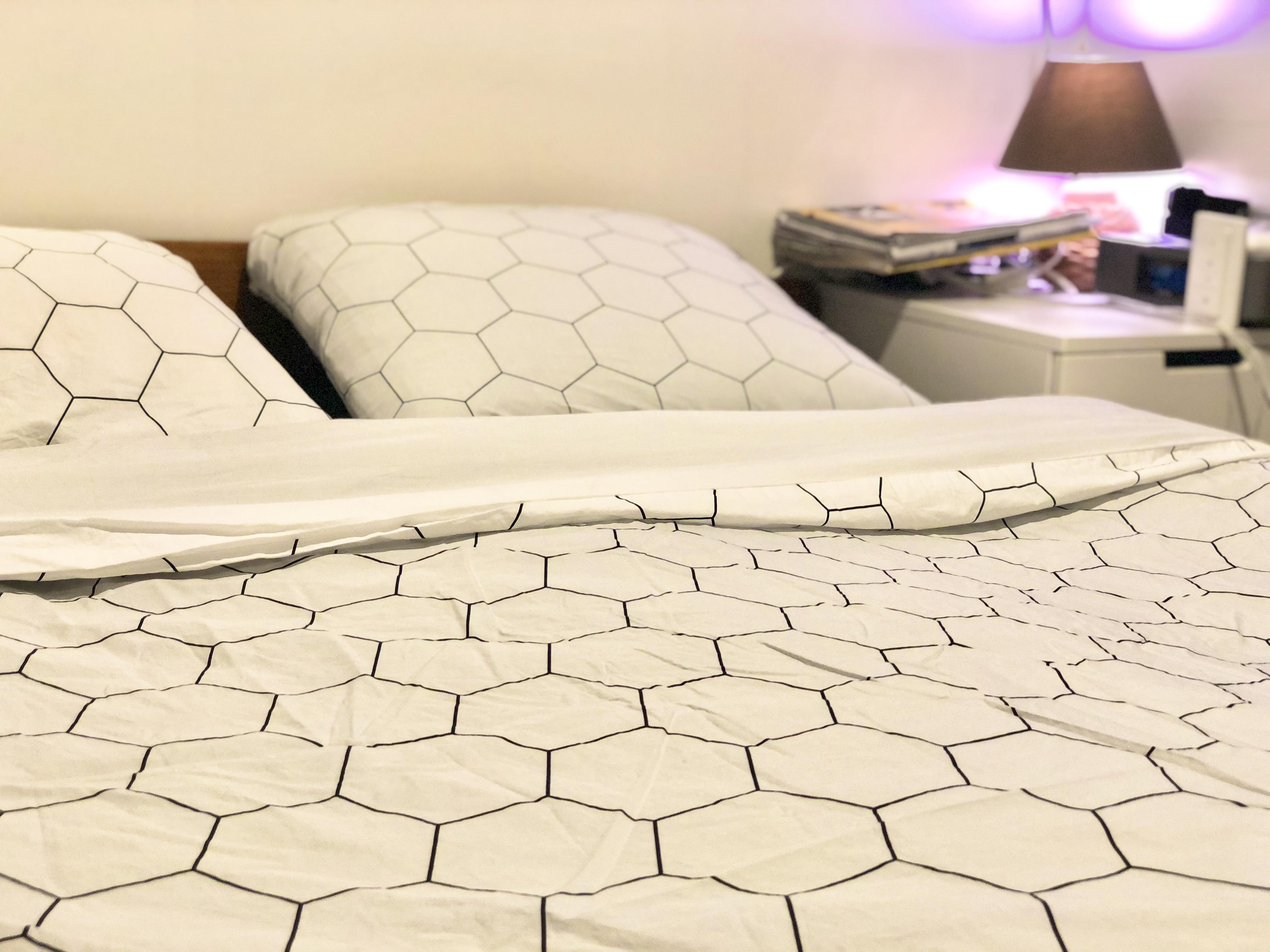 Wopilo… en version parure de lit chic!