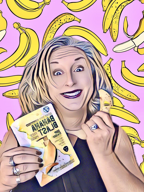 Masque W7 super skin superfood banana blast