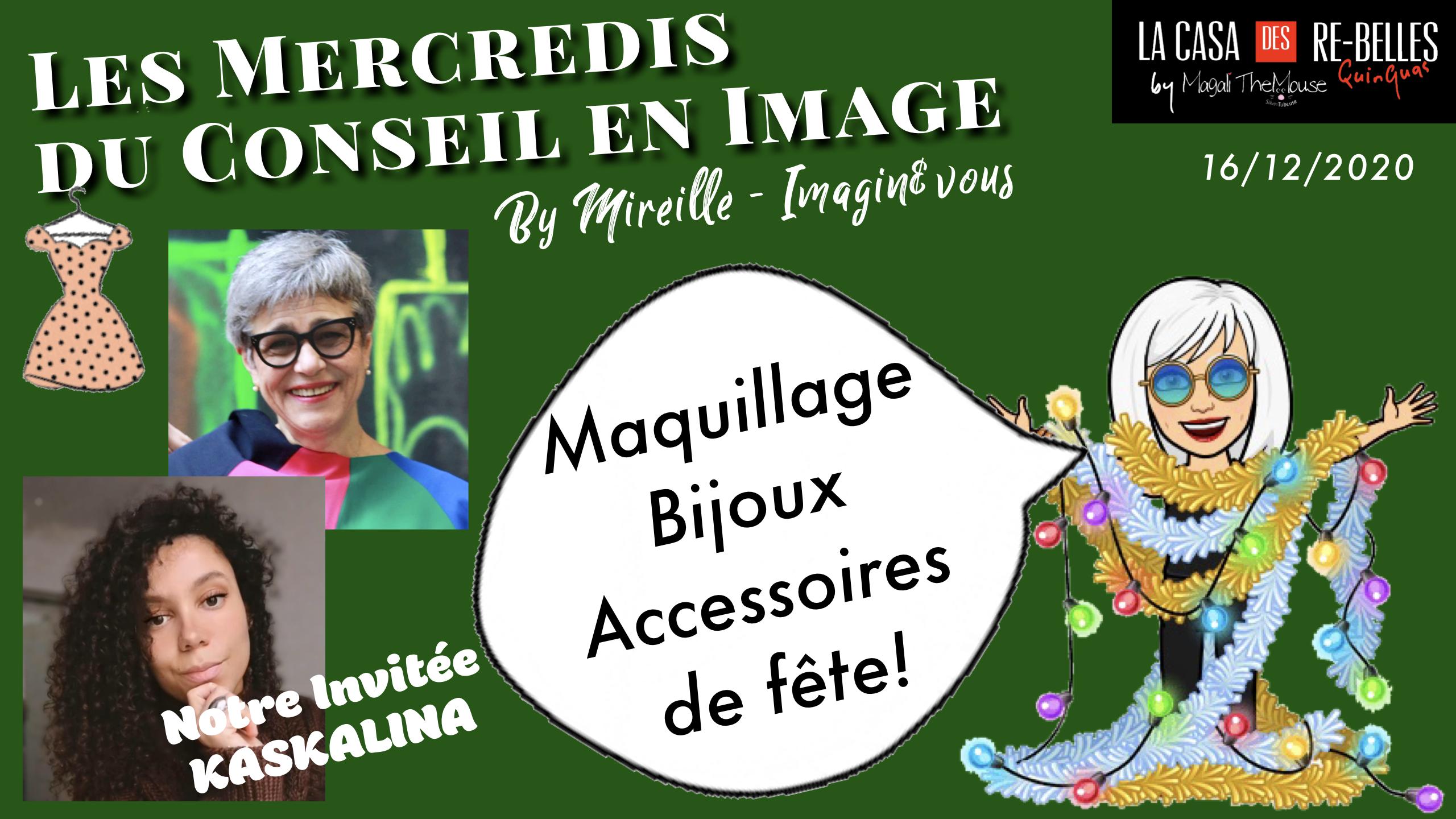 Maquillage, accessoires et bijoux Kasbahlina… tout pour une tenue de fête au top (Conseil en image)