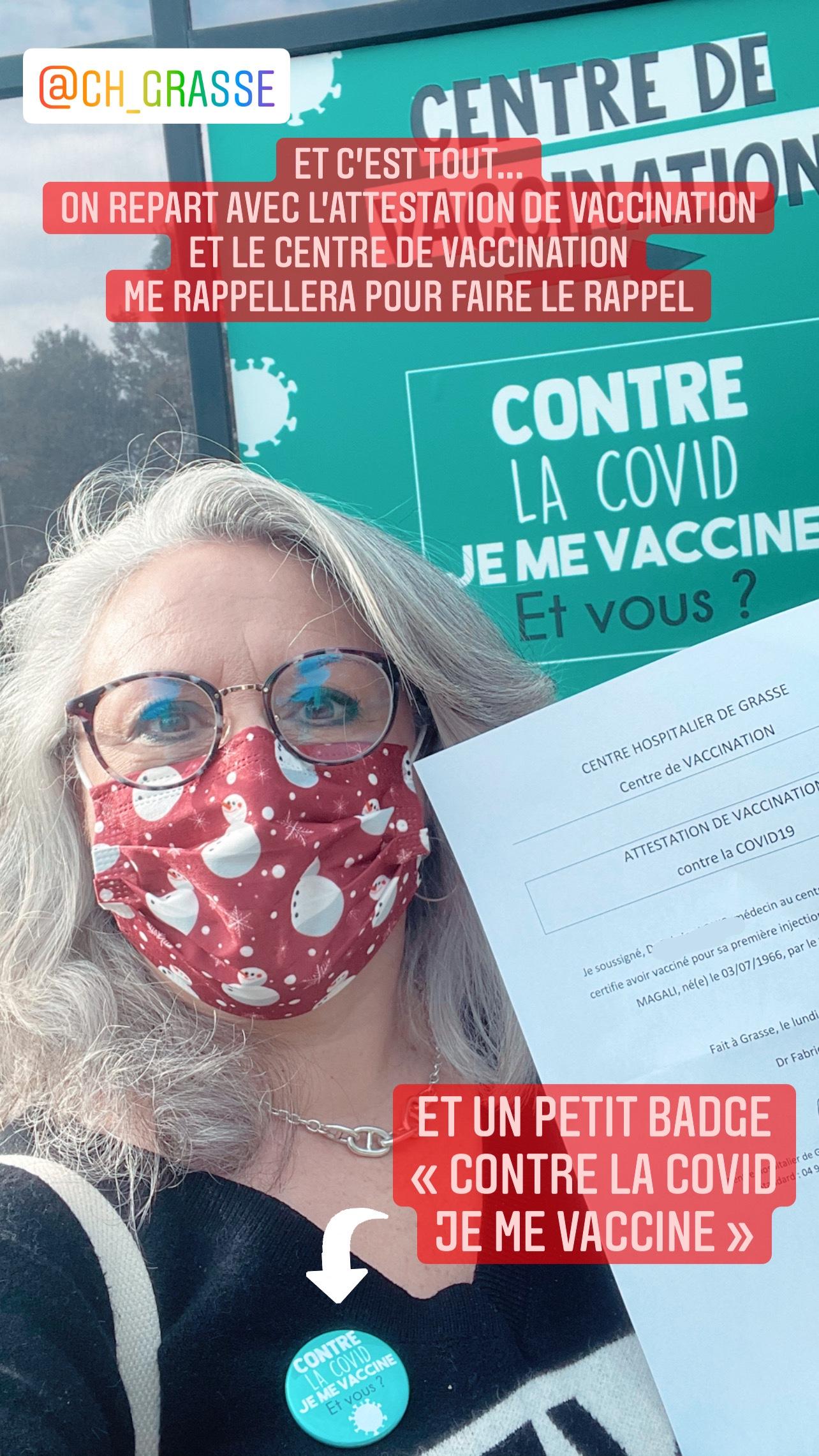Vaccination contre la COVID… cela se passe comment?