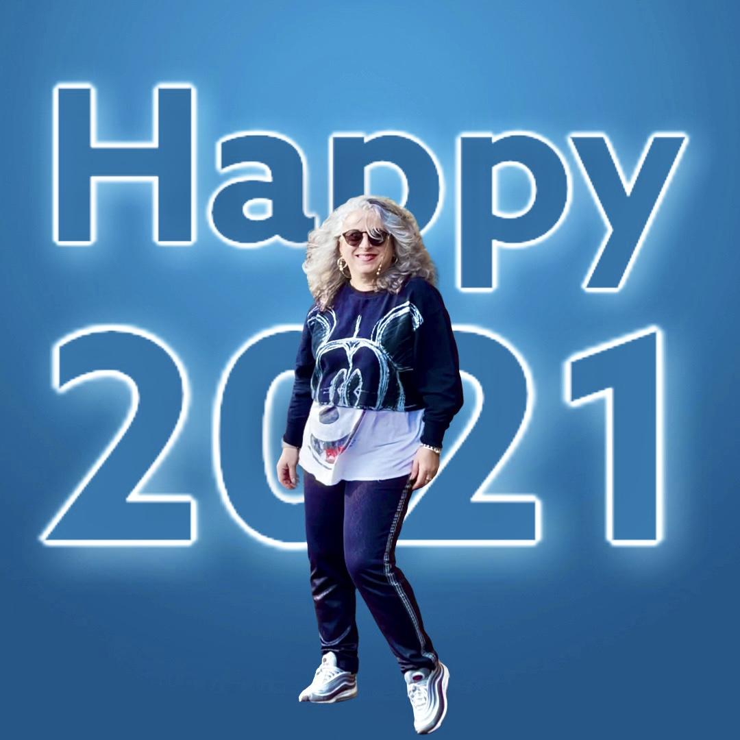 New year's day in Prams: voeux? résolutions? Noooooon!