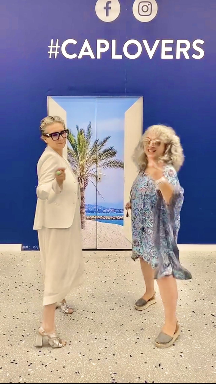 Inauguration du Corso de Cap 3000 et vidéo tiktok avec Karina Vigier